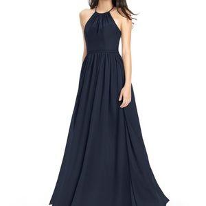"Azazie bridesmaid dress ""KAILYN"" in dark navy"